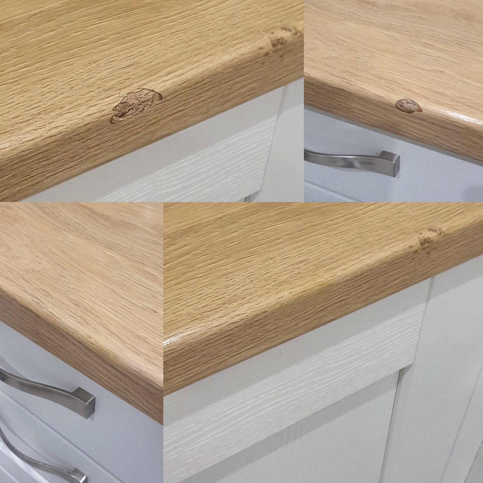 Woodgrain Laminate Worktop Repair